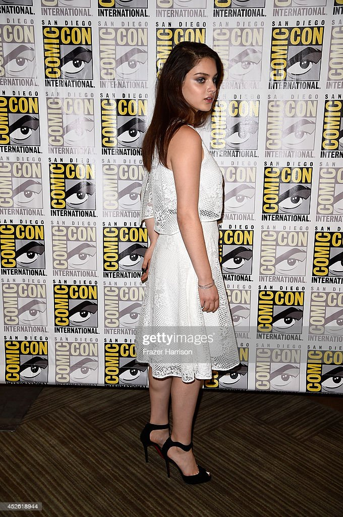 Actress Odeya Rush attends the 'The Giver' Press Line during ComicCon International 2014 at Hilton Bayfront on July 24 2014 in San Diego California