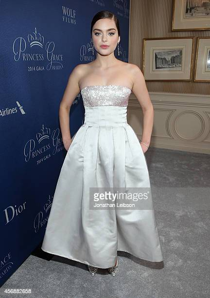 Actress Odeya Rush wearing Dior attends 2014 Princess Grace Awards Gala at Regent Beverly Wilshire Hotel on October 8 2014 in Beverly Hills California