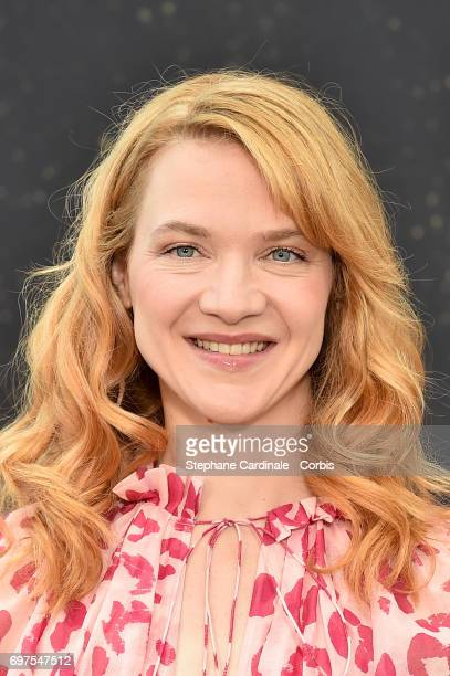 Actress Odile Vuillemin poses for a Photocall during the 57th Monte Carlo TV Festival Day 4 on June 19 2017 in MonteCarlo Monaco