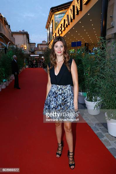Actress of the movie Alice Pol attends the 'Cezanne et Moi' Premiere Held at the Cinema 'Le Cezanne' on September 12 2016 in AixenProvence France
