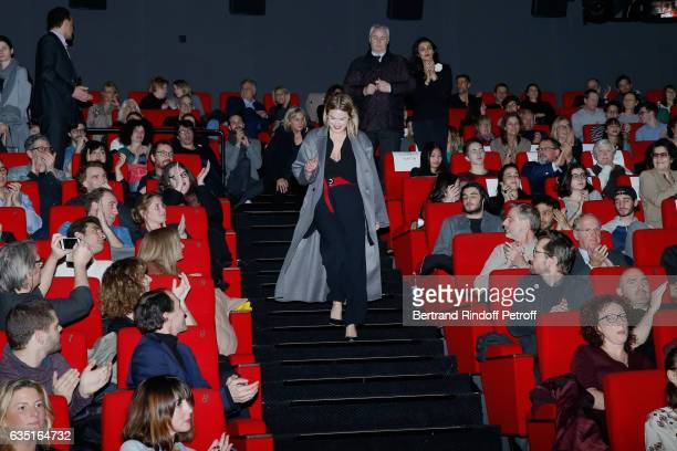 Actress of the movie Camille Rowe attends the 'Rock'N Roll' Premiere at Cinema Pathe Beaugrenelle on February 13 2017 in Paris France