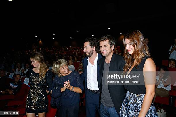 Actress of the movie Deborah Francois director of the movie Daniele Thompson actors of the movie Guillaume Gallienne Guillaume Canet and Alice Pol...