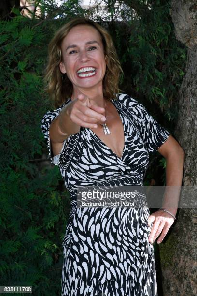 Actress of the movie 'Prendre le large' Sandrine Bonnaire attends the 10th Angouleme FrenchSpeaking Film Festival Day Two on August 23 2017 in...