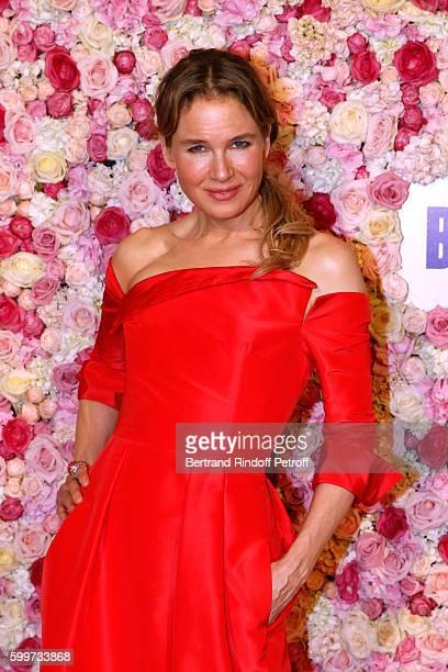 Actress of the movie Renee Zellweger attends the 'Bridget Jones Baby' Paris Premiere Held at Cinema Le Grand Rex on September 6 2016 in Paris France