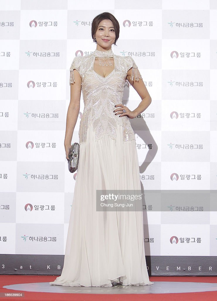 Actress Oh Yoon-Ah arrives for the 50th Daejong Film Awards at KBS hall on November 1, 2013 in Seoul, South Korea.