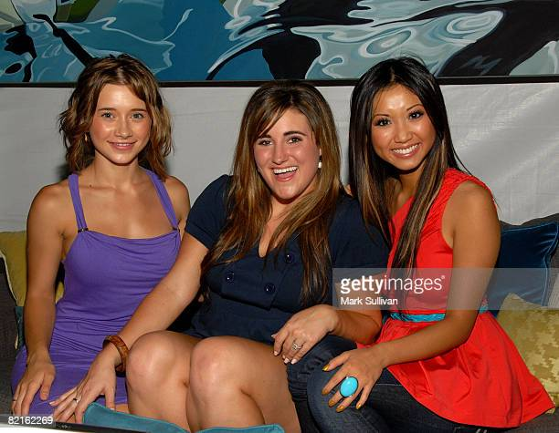 Actress Olesya Rulin actress Kaycee Stroh and actress Brenda Song attend the Mattel Celebrity Retreat produced by Backstage Creations at Teen Choice...