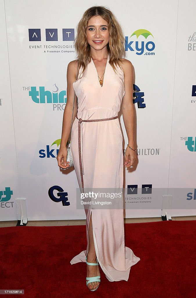 Actress <a gi-track='captionPersonalityLinkClicked' href=/galleries/search?phrase=Olesya+Rulin&family=editorial&specificpeople=4457251 ng-click='$event.stopPropagation()'>Olesya Rulin</a> attends the 4th Annual Thirst Gala at The Beverly Hilton Hotel on June 25, 2013 in Beverly Hills, California.