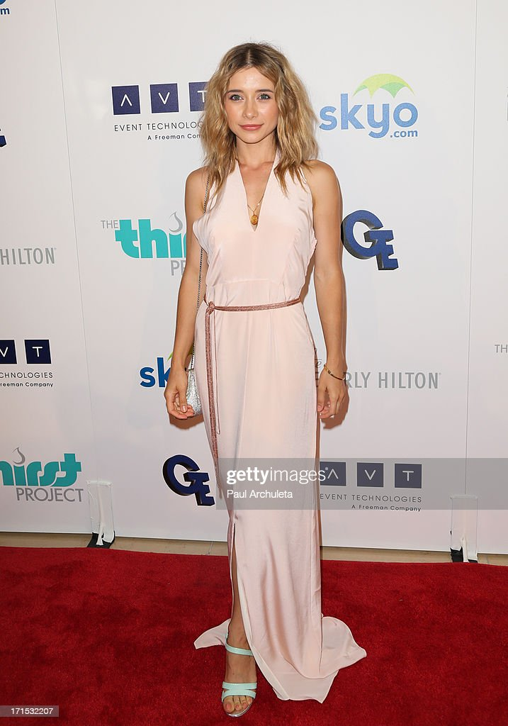 Actress Olesya Rulin attends the 4th annual Thirst Gala at The Beverly Hilton Hotel on June 25, 2013 in Beverly Hills, California.