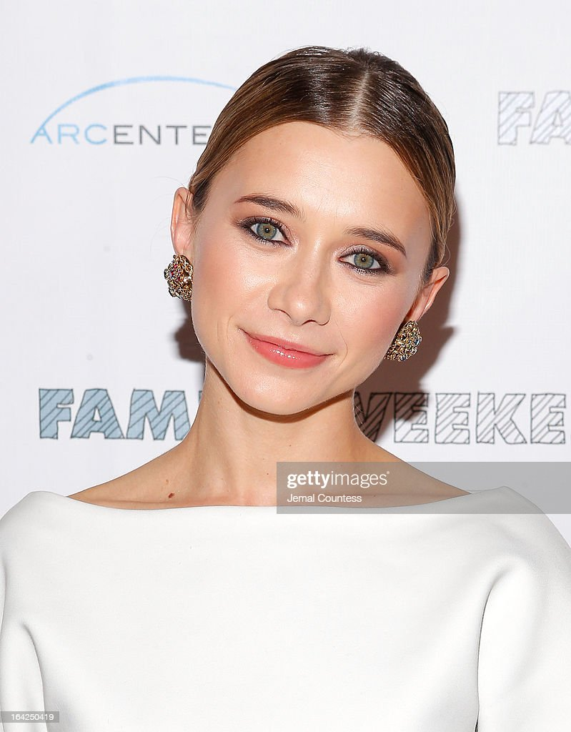 Actress Olesya Rulin attends the 'Family Weekend' New York Screening at Chelsea Clearview Cinemas on March 21, 2013 in New York City.