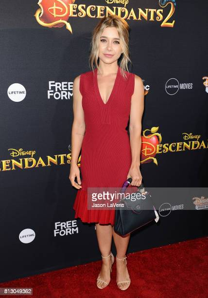 Actress Olesya Rulin attends the premiere of 'Descendants 2' at The Cinerama Dome on July 11 2017 in Los Angeles California