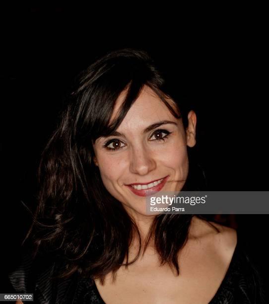 Actress Olga Alaman attends the 'El Pelotari y la Fallera' premiere at Callao cinema on April 5 2017 in Madrid Spain