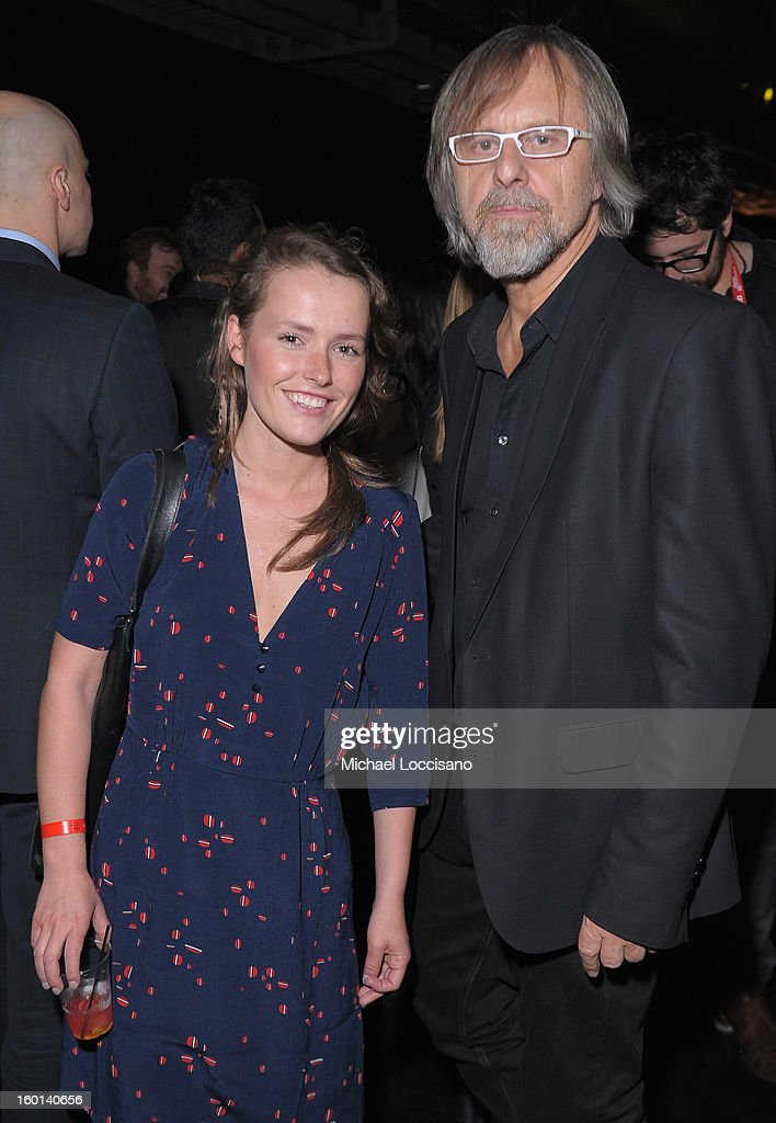Actress Olga Frycz (L) and composer Jan A. P. Kaczmarek attend the Awards Night Party during the 2013 Sundance Film Festival at Basin Recreation Field House on January 26, 2013 in Park City, Utah.