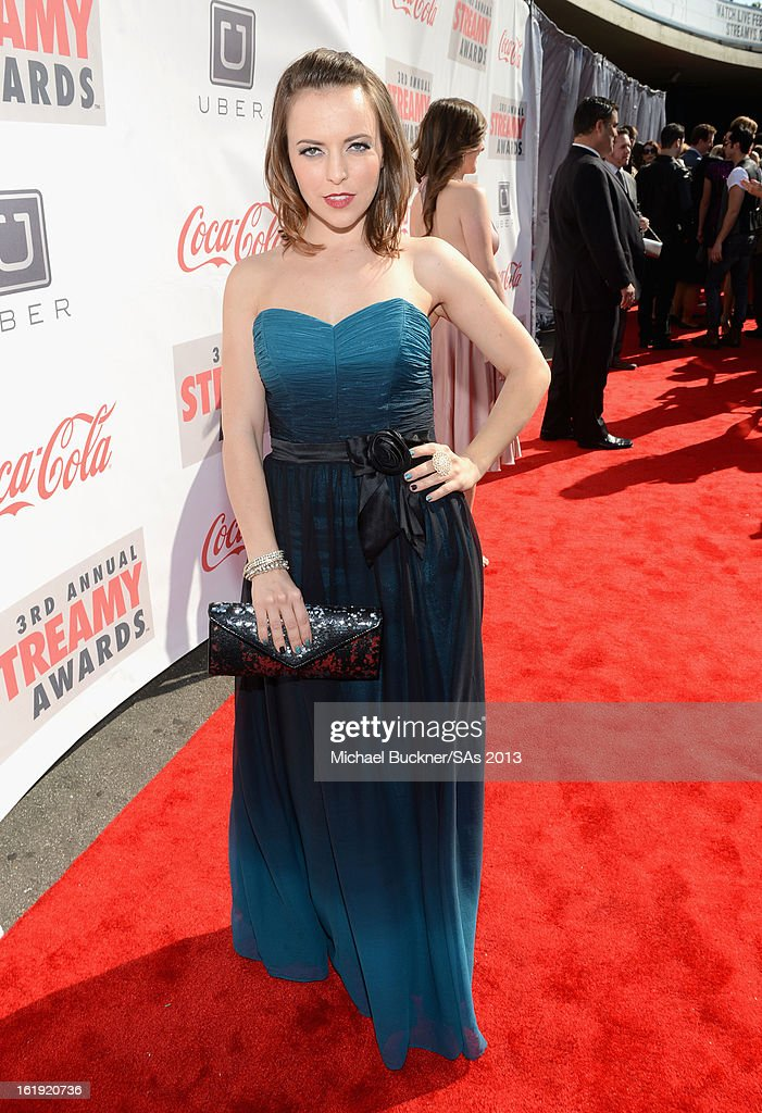 Actress Olga Kay attends the 3rd Annual Streamy Awards at Hollywood Palladium on February 17, 2013 in Hollywood, California.