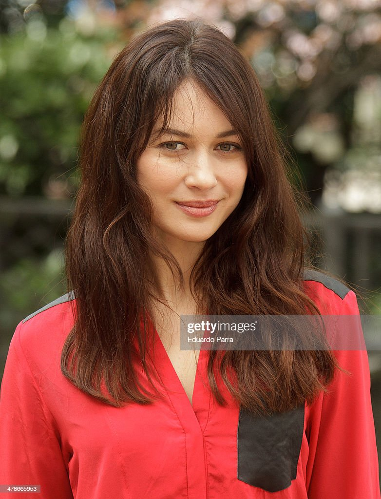 Actress <a gi-track='captionPersonalityLinkClicked' href=/galleries/search?phrase=Olga+Kurylenko&family=editorial&specificpeople=630281 ng-click='$event.stopPropagation()'>Olga Kurylenko</a> attends 'A perfect day' star shooting photocall at Casa de America on March 14, 2014 in Madrid, Spain.