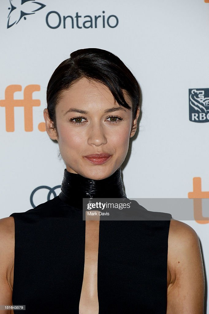 Actress Olga Kurylenko attends 'Seven Psychopaths' premiere during the 2012 Toronto International Film Festival at Ryerson Theatre on September 7, 2012 in Toronto, Canada.
