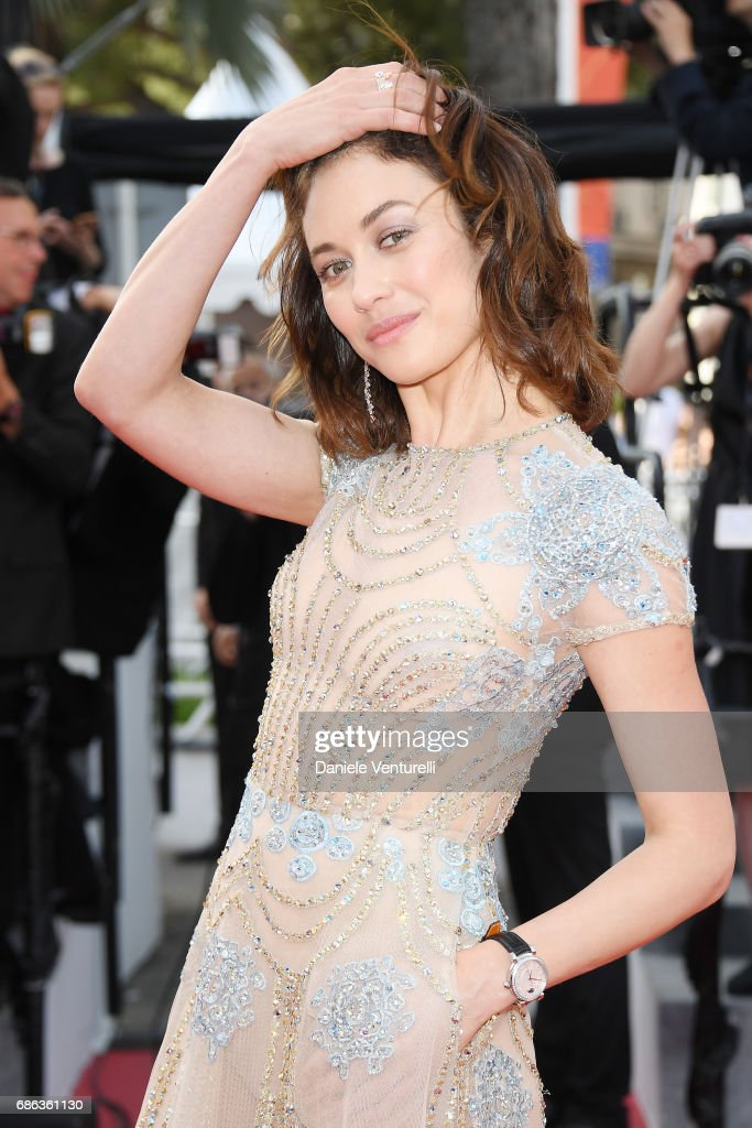 Actress Olga Kurylenko attends 'The Meyerowitz Stories' premiere during the 70th annual Cannes Film Festival at Palais des Festivals on May 21, 2017 in Cannes, France.