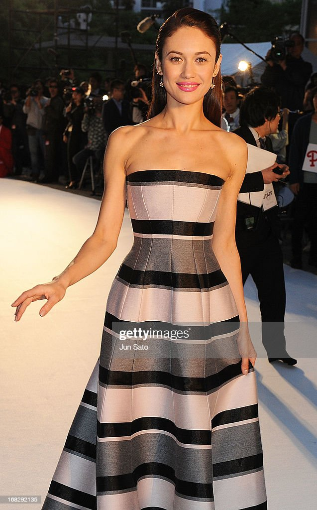 Actress Olga Kurylenko attends the 'Oblivion' Japan Premiere at Roppongi Hills on May 8, 2013 in Tokyo, Japan. The film will open on May 31 in Japan.
