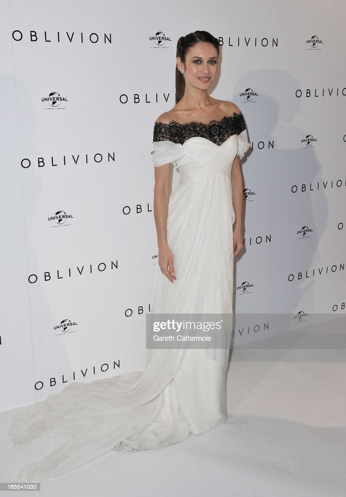 Actress Olga Kurylenko attends the 'Oblivion' UK film premiere at the BFI IMAX on April 4, 2013 in London, England.