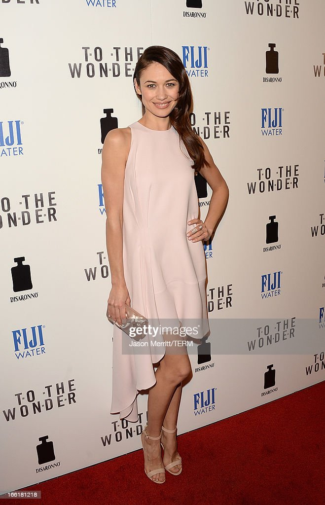 Actress Olga Kurylenko attends the premiere of Magnolia Pictures' 'To The Wonder' at Pacific Design Center on April 9, 2013 in West Hollywood, California.