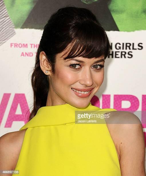 Actress Olga Kurylenko attends the premiere of 'Vampire Academy' at Regal Cinemas LA Live on February 4 2014 in Los Angeles California