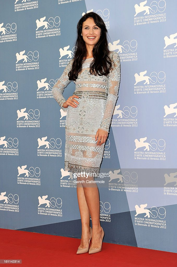 Actress Olga Kurylenko attends the 'To The Wonder' Photocall during the 69th Venice Film Festival at the Palazzo del Casino on September 2, 2012 in Venice, Italy.