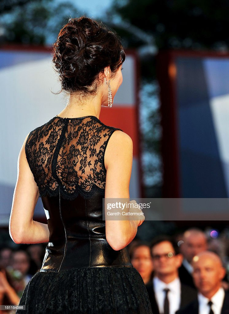 Actress Olga Kurylenko attends the 'To The Wonder' Premiere during the 69th Venice Film Festival at the Palazzo del Cinema on September 2, 2012 in Venice, Italy.