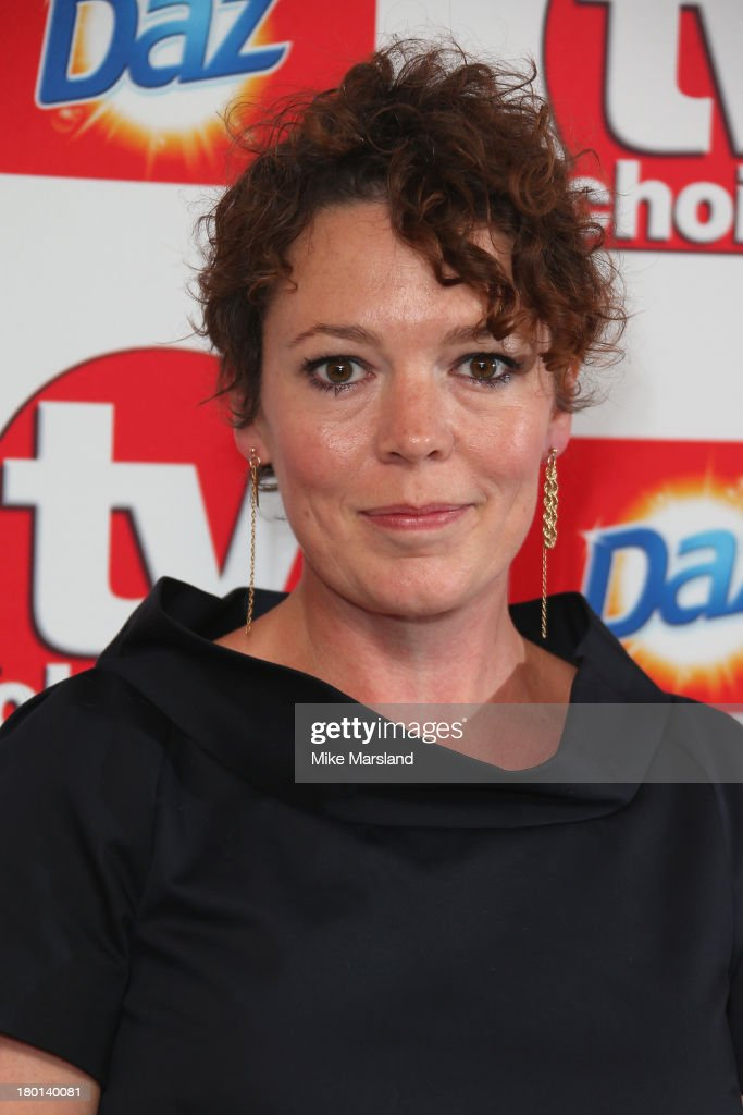 Actress <a gi-track='captionPersonalityLinkClicked' href=/galleries/search?phrase=Olivia+Colman&family=editorial&specificpeople=5153582 ng-click='$event.stopPropagation()'>Olivia Colman</a> attends the TV Choice Awards 2013 at The Dorchester on September 9, 2013 in London, England.