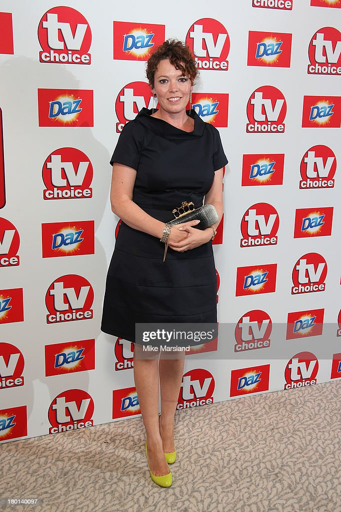 Actress Olivia Colman attends the TV Choice Awards 2013 at The Dorchester on September 9, 2013 in London, England.