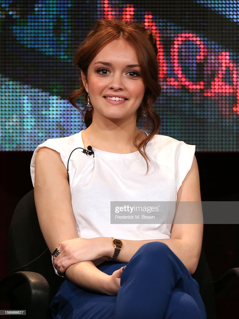 Actress Olivia Cooke speaks onstage during the 'Bates Motel' panel discussion at the A&E Network portion of the 2013 Winter TCA Tourduring 2013 Winter TCA Tour - Day 1 at Langham Hotel on January 4, 2013 in Pasadena, California.