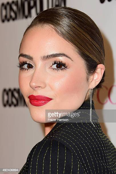 Actress Olivia Culpo attends Cosmopolitan's 50th Birthday Celebration at Ysabel on October 12 2015 in West Hollywood California