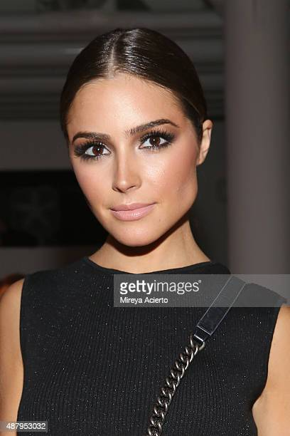 Actress Olivia Culpo attends the Baja East runway show during Spring 2016 MADE Fashion Week at Milk Studios on September 12 2015 in New York City