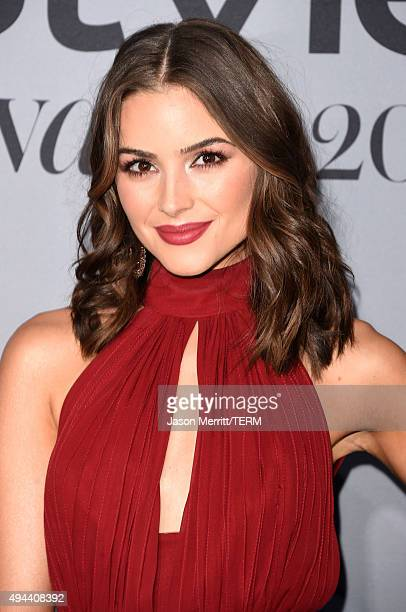 Actress Olivia Culpo attends the InStyle Awards at Getty Center on October 26 2015 in Los Angeles California