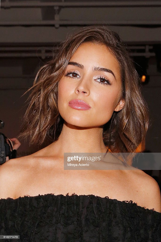 Actress <a gi-track='captionPersonalityLinkClicked' href=/galleries/search?phrase=Olivia+Culpo&family=editorial&specificpeople=9194131 ng-click='$event.stopPropagation()'>Olivia Culpo</a> attends the Jonathan Simkhai fashion show during Fall 2016 MADE Fashion Week at Milk Studios on February 14, 2016 in New York City.