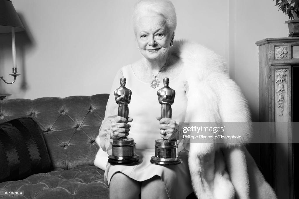 Olivia de Havilland, Madame Figaro, November 12, 2010