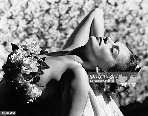 Actress Olivia de Havilland poses for a portrait circa 1940 in Los Angeles California