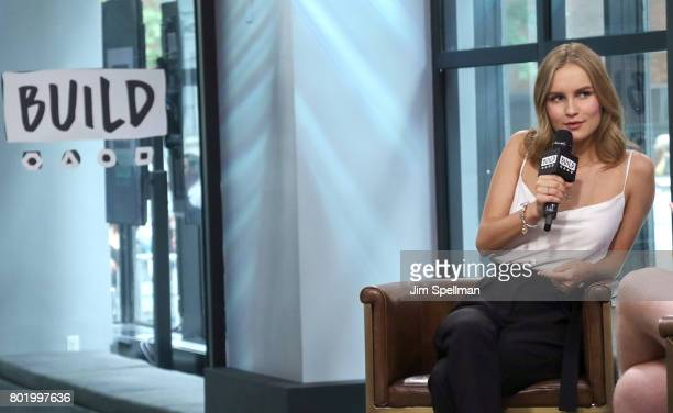 Actress Olivia DeJonge attends Build to discuss 'Will' at Build Studio on June 27 2017 in New York City