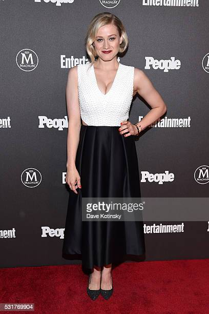 Actress Olivia Dudley attends the Entertainment Weekly People Upfronts party 2016 at Cedar Lake on May 16 2016 in New York City