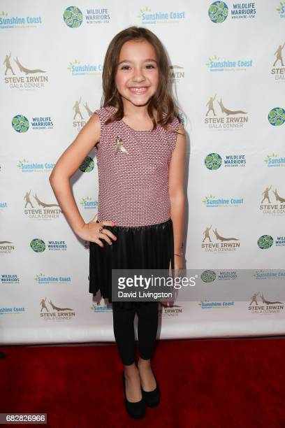 Actress Olivia Edward attends the Steve Irwin Gala Dinner at the SLS Hotel at Beverly Hills on May 13 2017 in Los Angeles California
