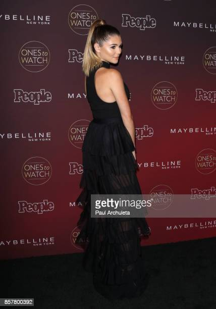 Actress Olivia Jade Giannulli attends People's 'Ones To Watch' party at NeueHouse Hollywood on October 4 2017 in Los Angeles California