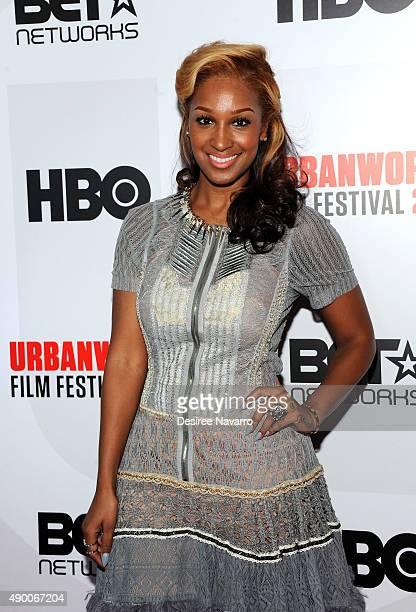 Actress Olivia Longott attends 2015 Urbanworld Film Festival at AMC Empire 25 theater on September 25 2015 in New York City