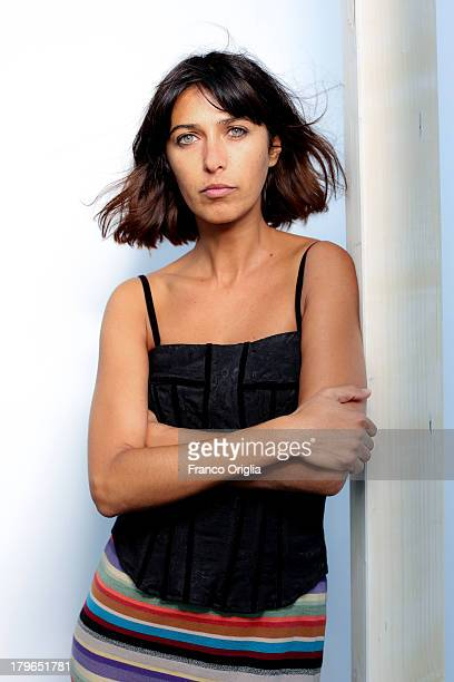 Actress Olivia Magnani granddaughter of Italian actress Anna Magnani poses during a Portrait Session as part of the 70th Venice International Film...