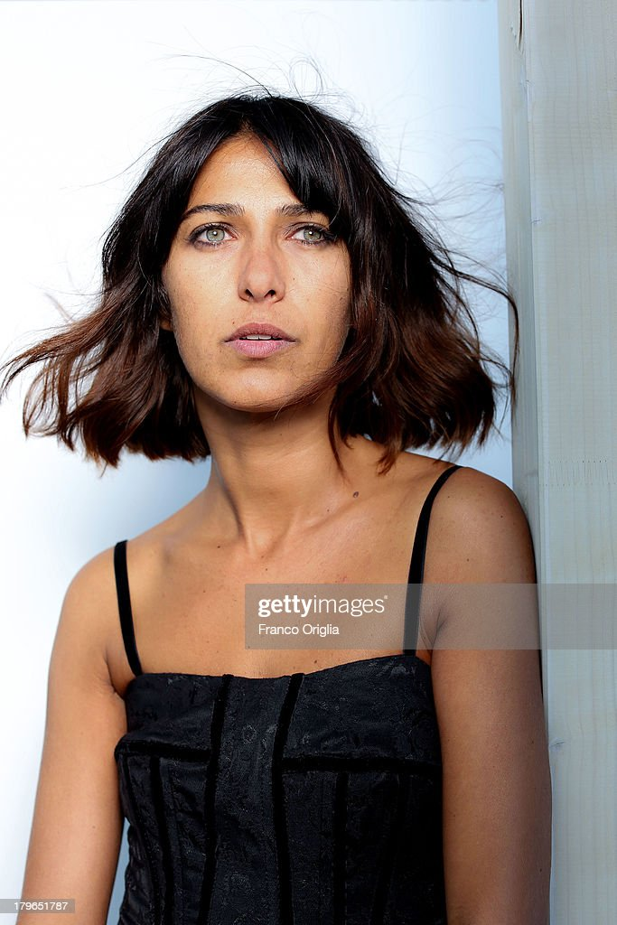 Actress <a gi-track='captionPersonalityLinkClicked' href=/galleries/search?phrase=Olivia+Magnani&family=editorial&specificpeople=2868440 ng-click='$event.stopPropagation()'>Olivia Magnani</a>, granddaughter of Italian actress Anna Magnani (1908 - 1973), poses during a Portrait Session as part of the 70th Venice International Film Festival on September 4, 2013 in Venice, Italy.