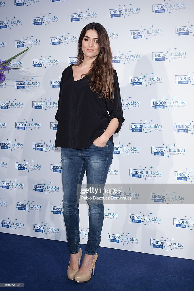 Actress Olivia Molina presents 'Ilusion Por el Dia a Dia' Campaign at Espacio CoolRoom on November 20, 2012 in Madrid, Spain.