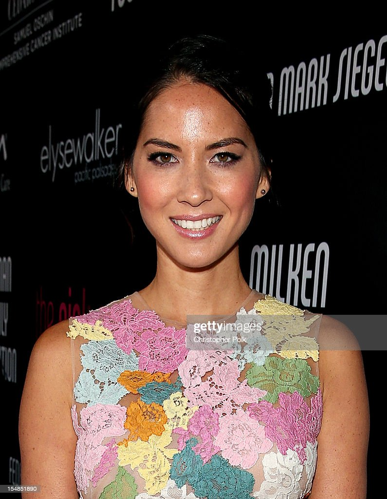 Actress Olivia Munn arrives at Elyse Walker presents the 8th annual Pink Party hosted by Michelle Pfeiffer to benefit Cedars-Sinai Women's Cancer Program held at