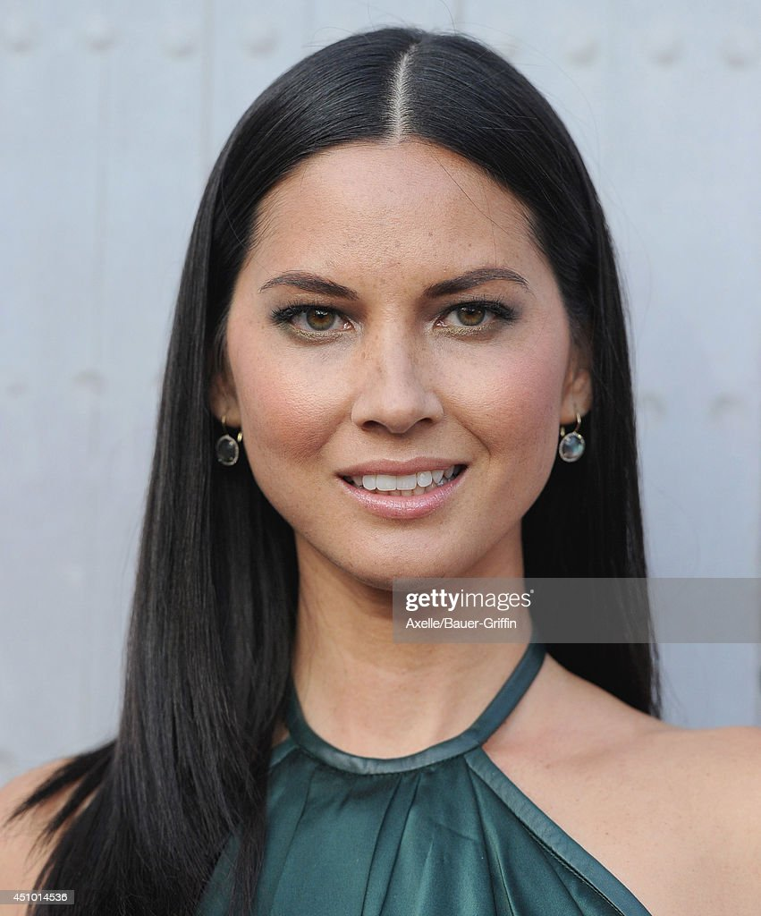Actress <a gi-track='captionPersonalityLinkClicked' href=/galleries/search?phrase=Olivia+Munn&family=editorial&specificpeople=598969 ng-click='$event.stopPropagation()'>Olivia Munn</a> arrives at Spike TV's 'Guys Choice' Awards at Sony Studios on June 7, 2014 in Los Angeles, California.