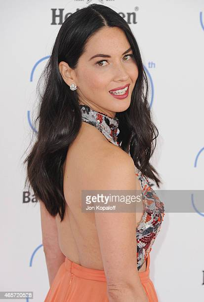 Actress Olivia Munn arrives at the 2015 Film Independent Spirit Awards on February 21 2015 in Santa Monica California