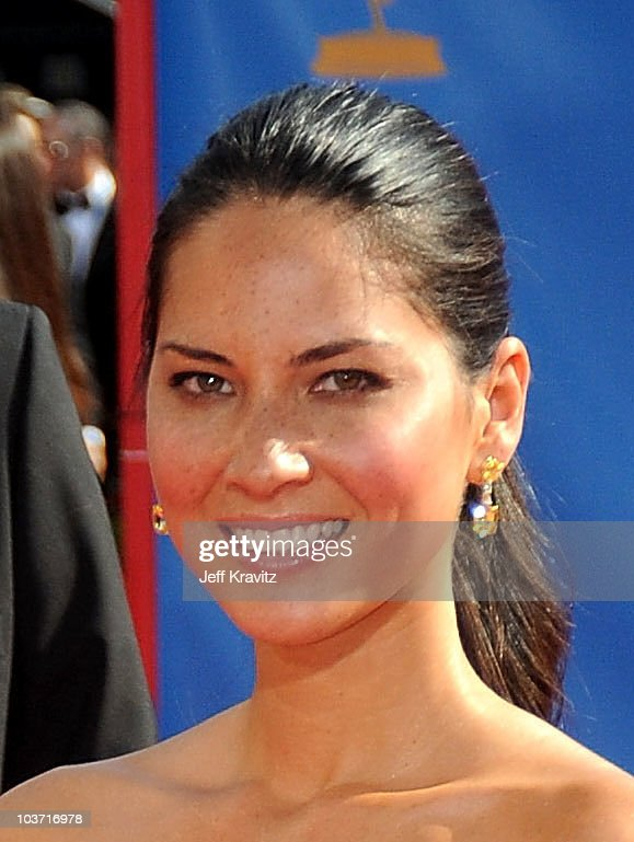 Actress Olivia Munn arrives at the 62nd Annual Primetime Emmy Awards held at the Nokia Theatre L.A. Live on August 29, 2010 in Los Angeles, California.