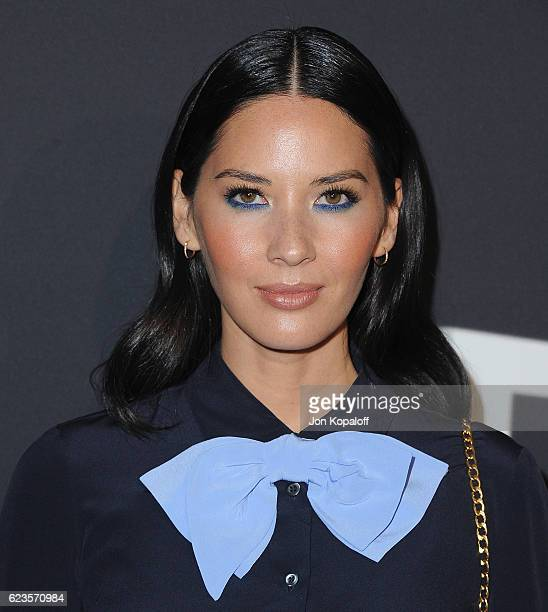 Actress Olivia Munn arrives at the screening Of David O Russell's 'Past Forward' hosted by Prada at Hauser Wirth Schimmel on November 15 2016 in Los...