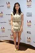 Actress Olivia Munn attends Coffee Talks Actors during the 2014 Los Angeles Film Festival at Luxe City Center Hotel on June 15 2014 in Los Angeles...