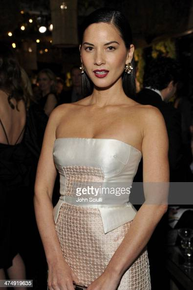 Actress Olivia Munn attends 'Decades of Glamour' presented by BVLGARI on February 25 2014 in West Hollywood California